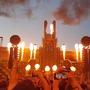 Rammstein po dvou letech opět zapálili Prahu