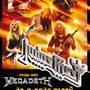 Judas Priest v rámci svého turné vystoupí společně s Megadeth v Pzni