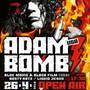 Na první letošní Open Air v Modré Vopici vystoupí Adam Bomb