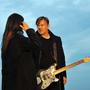 Na střechu Lucerny pozval zpěvák Michal Hrůza Annu K., aby opět spolu nazpívali společný duet