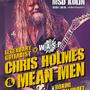 Návrat rockera Chrise Holmese s novou kapelou Mean Man