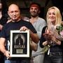 Daniel Landa si převzal ocenění za prodané nosiče muzikálu Krysař, který se na českých pódiích uvádí přes 20 let