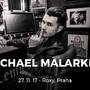Herec a hudebník Michael Malarkey se chystá poprvé do Prahy