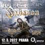 Sabaton v rámci velkého evropského turné The Tour To End All Tours  vystoupí  v Praze