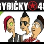 Animované podobizny členů kapely Rybičky 48.