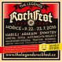Setkání s rockovou muzikou na festivalu The Legends Rock Fest  aneb letošní festival v Hořicích slaví první půlkulatiny