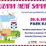 Na Kampě se koná koncert pro slovenskou prezidentku